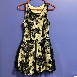Dainty Hooligan Black Lace Dress